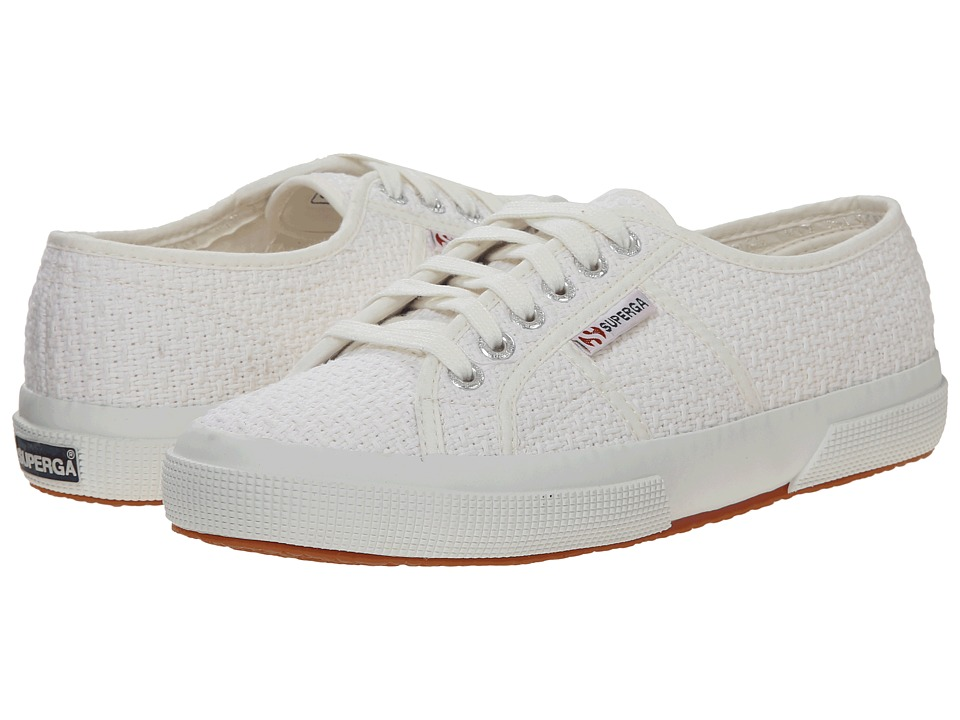 Superga - 2750 Crochet (White) Women's Lace up casual Shoes
