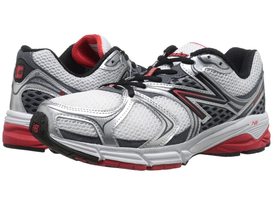 New Balance - M940V2 (Steel/Velocity Red) Men's Running Shoes
