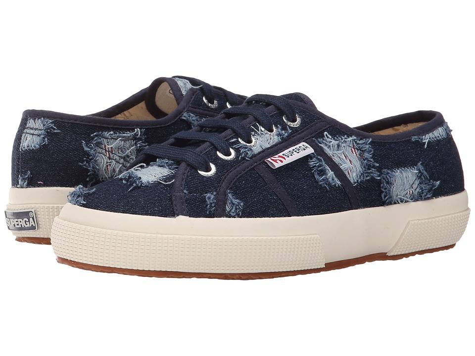 Superga - 2750 SHRDJNSW (Indigo/Red) Women