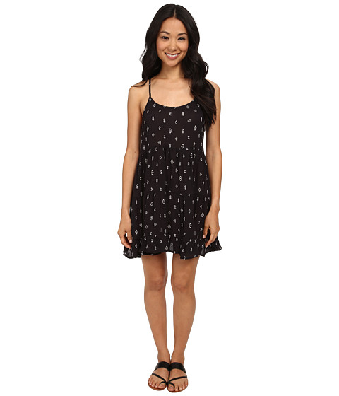 Billabong - Day Dreamy Dress (Off Black) Women's Dress