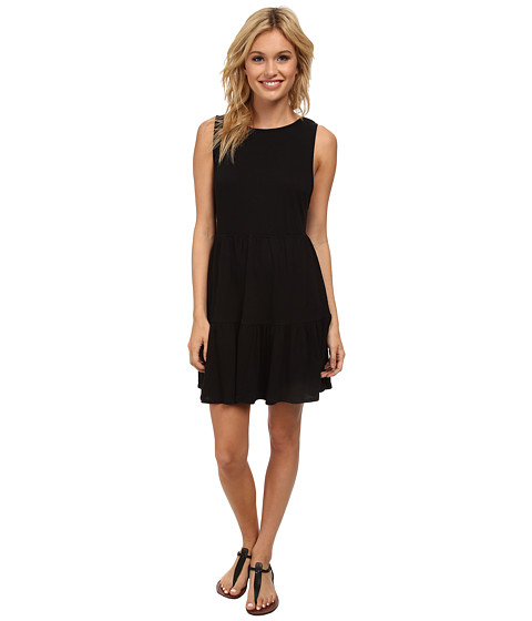 Billabong - Out at Sea Dress (Off Black) Women
