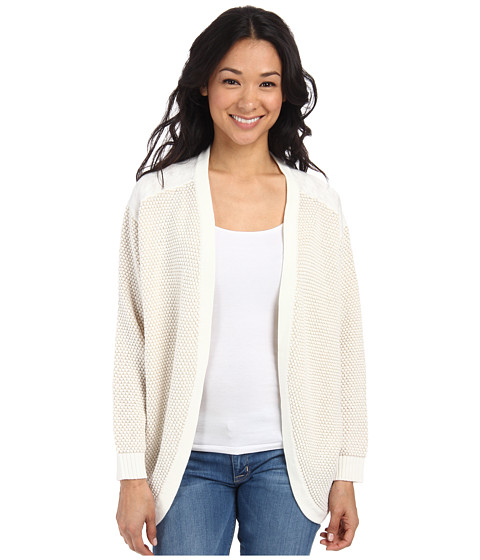 Element - Leena Wrap Sweater (Natural) Women's Sweater