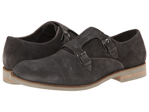 John Varvatos - Sid Eva Double Monk (Oxide) Men