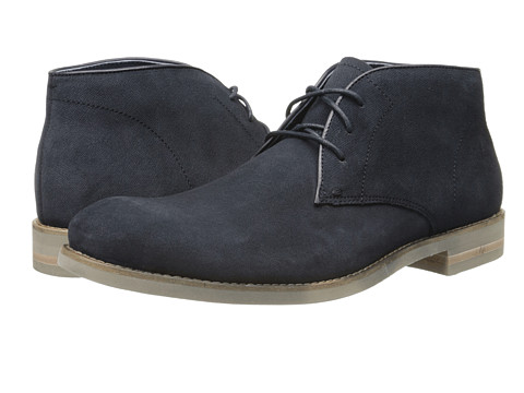 John Varvatos - Sid Eva Chukka (Midnight) Men's Lace-up Boots