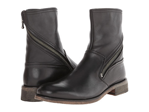 John Varvatos - Rocker Twisted Zip Boot (Black) Men