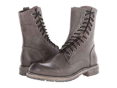 John Varvatos - Strummer Twisted Lace Boot (Granite) Men