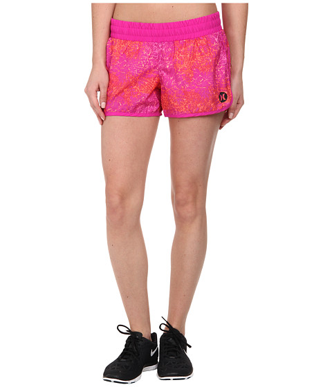 Hurley - Dri-Fit 3.5 Beachrider Runner Short (Fuchsia Flash) Women's Shorts
