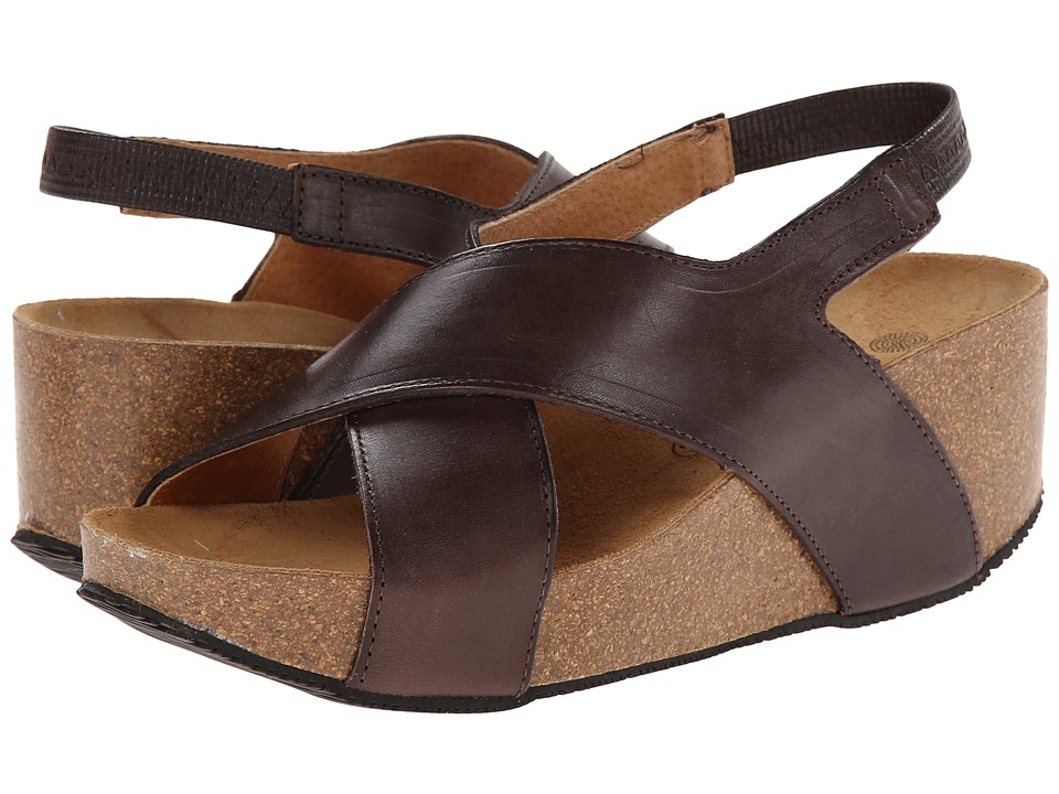 Eric Michael - Rochelle (Brown) Women's Wedge Shoes