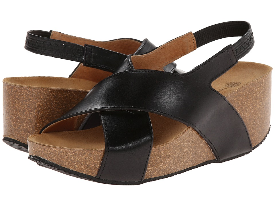 Eric Michael - Rochelle (Black 1) Women's Wedge Shoes
