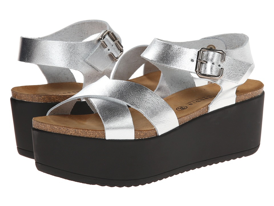 Eric Michael - Kendra (Silver) Women's Shoes