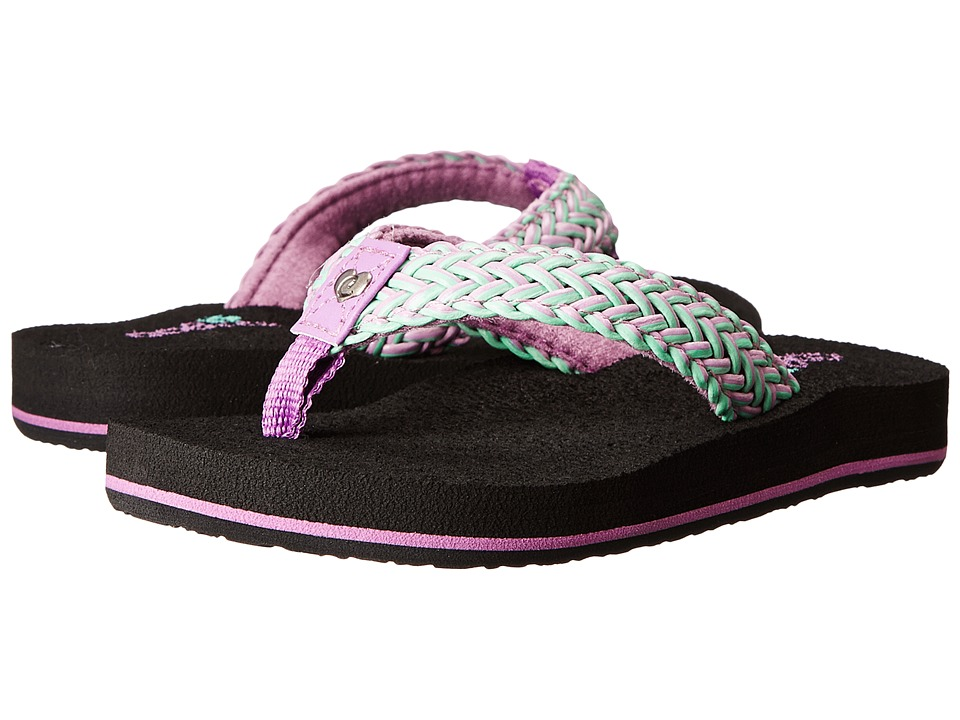 Cobian Kids - Lil Lalati (Toddler/Little Kid/Big Kid) (Purple) Girls Shoes