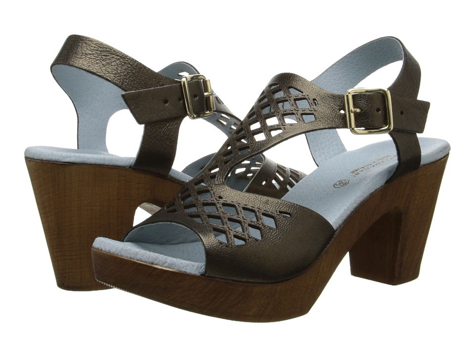 Eric Michael - Tyra (Brown Metallic) Women's Shoes
