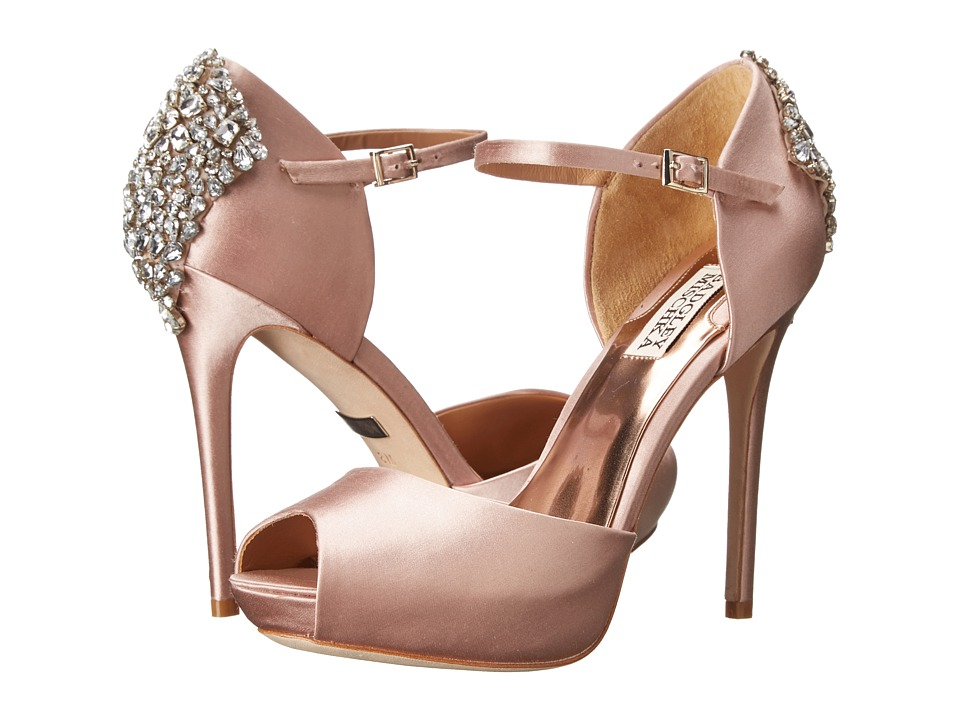 Badgley Mischka - Gene (Blush Satin) High Heels