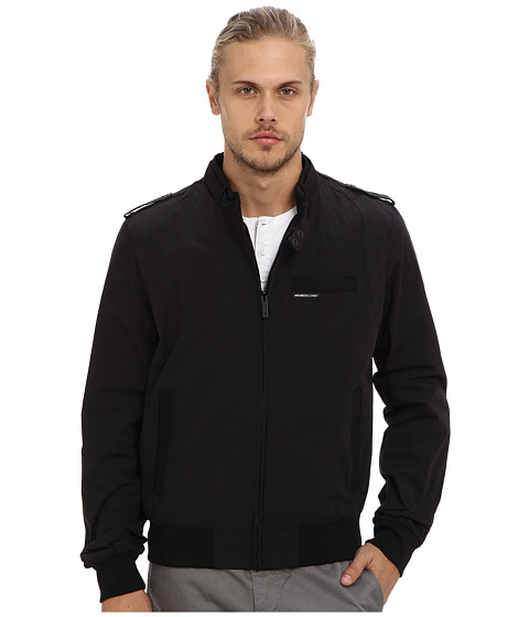 Members Only - Iconic Racer Jacket (Black 1) Men's Coat