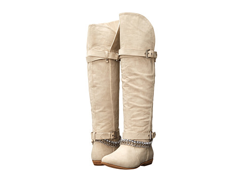 Not Rated - Rose Mallow (Cream) Women's Pull-on Boots