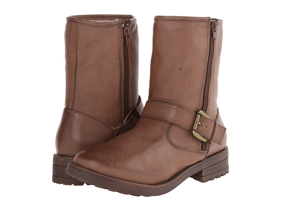 MIA - Jania (Brown) Women's Zip Boots