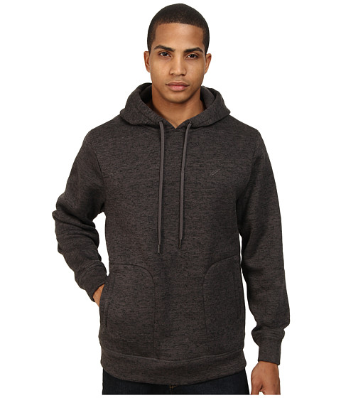 Publish - Arnelle Two-Tone Heathered Hoodie (Charcoal) Men