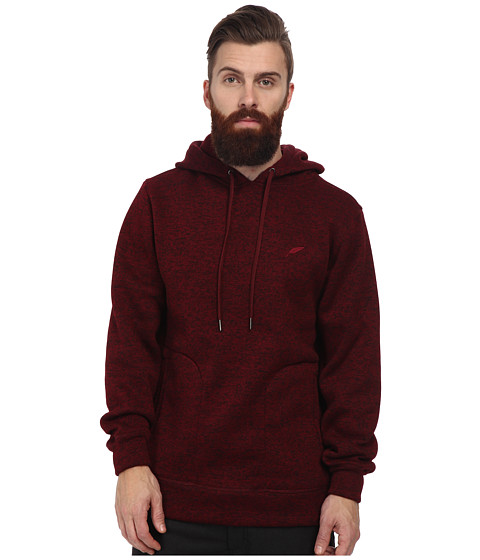 Publish - Arnelle Two-Tone Heathered Hoodie (Maroon) Men