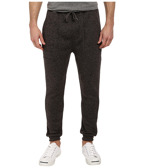Publish - Noel Two-Tone Heathered Jogger (Charcoal) Men