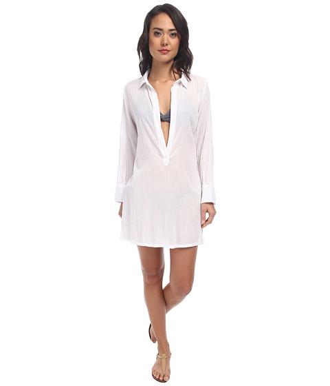LAUREN by Ralph Lauren - Breeze Shirt Cover-Up (White) Women
