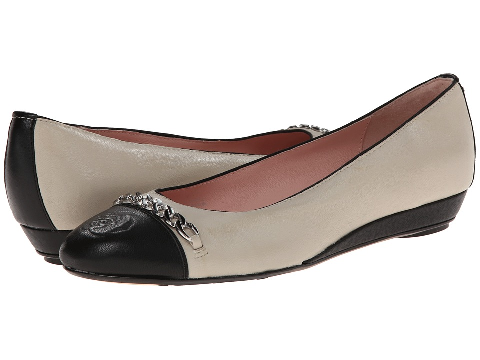 Taryn Rose - Paola (Bone/Black Soft Nappa) Women's Shoes