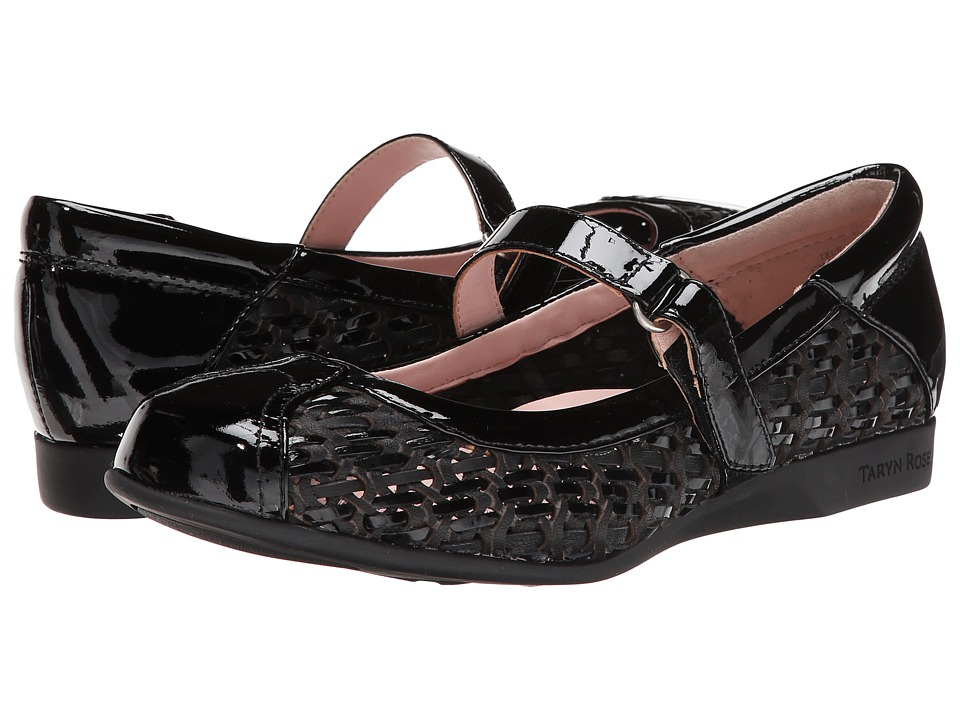 Taryn Rose - True (Black Nappa/Patent Leather) Women