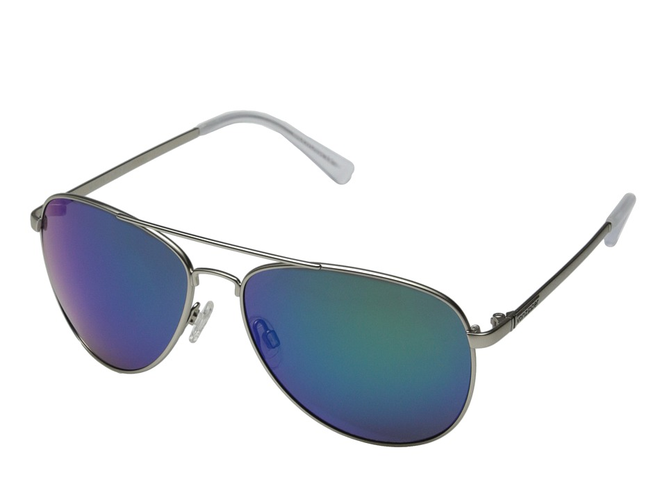 VonZipper - Farva (Silver Satin/Quasar Gloss) Fashion Sunglasses