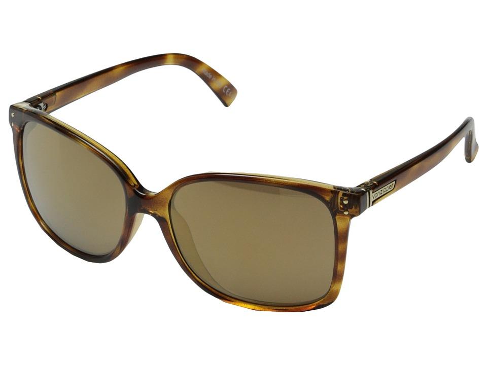 VonZipper - Castaway (Demi Tortoise/Gold Gloss) Sport Sunglasses