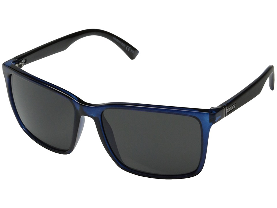 VonZipper - Lesmore (Navy Black Crystal/Grey) Sport Sunglasses