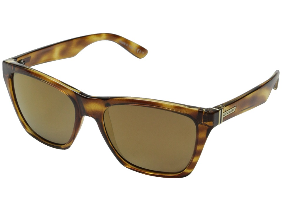 VonZipper - Booker (Demi Tortoise/Gold Gloss) Sport Sunglasses