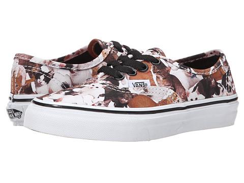 Vans Kids - Authentic ASPCA (Little Kid/Big Kid) (Kittens/True White) Kids Shoes