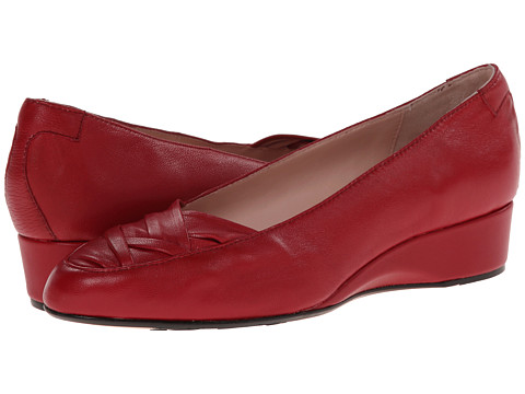 Taryn Rose - Faulk (Valentine Red Soft Nappa) Women