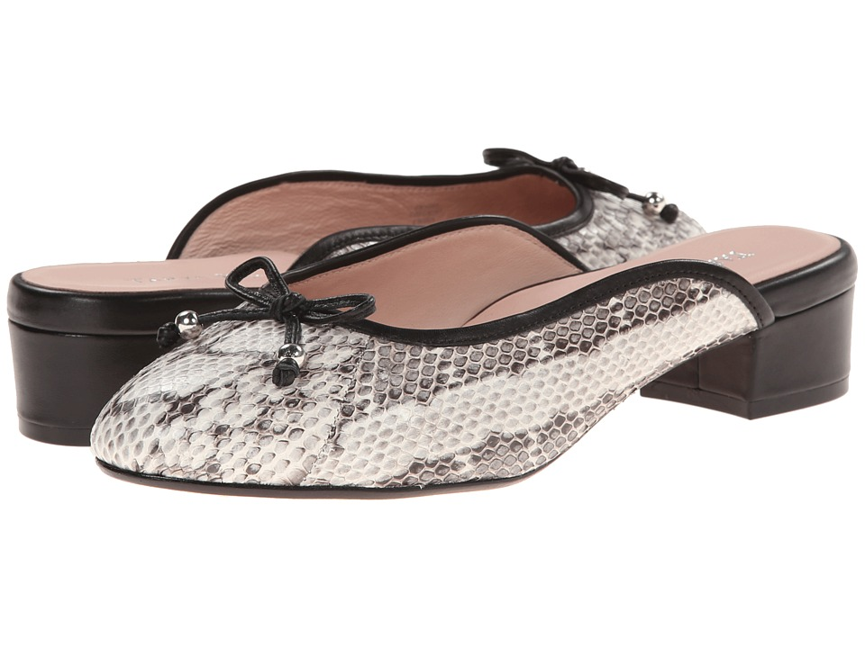 Taryn Rose - Faigel (Narutal Snake Print Fabric) Women's Shoes