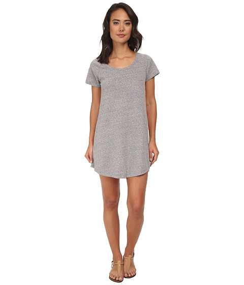Roxy - Ben Weston Tee Shirt Shift Dress (Heritage Heather) Women