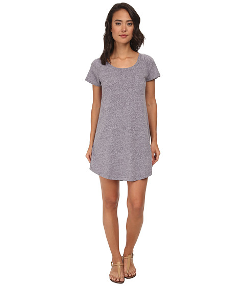 Roxy - Ben Weston Tee Shirt Shift Dress (Astral Aura) Women's Dress