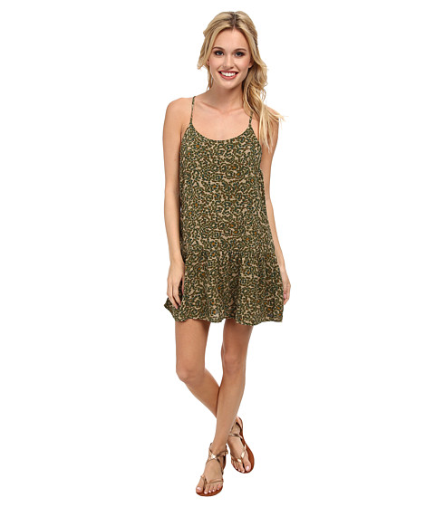 Roxy - Like It's Hot Dress (Bark Floral Camo) Women's Dress