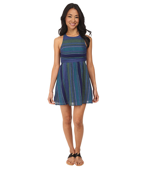 Roxy - Long View Dress (Astral Aura Sunset) Women