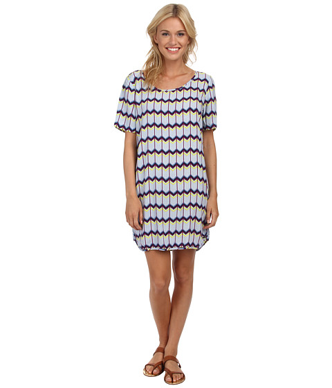 Roxy - Retro Row Shift Dress (Light Denim Dakota) Women