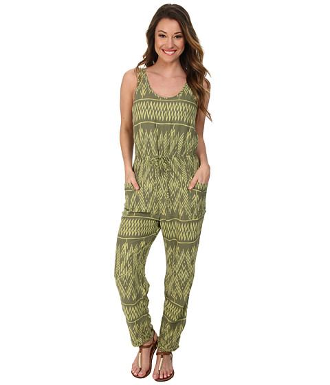 Roxy - Love is Enough Romper (Cypress Ikat) Women's Jumpsuit & Rompers One Piece