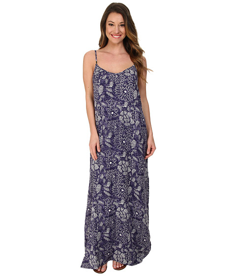 Roxy - Stillwater Maxi Dress (Astral Aura Batik Floral) Women's Dress