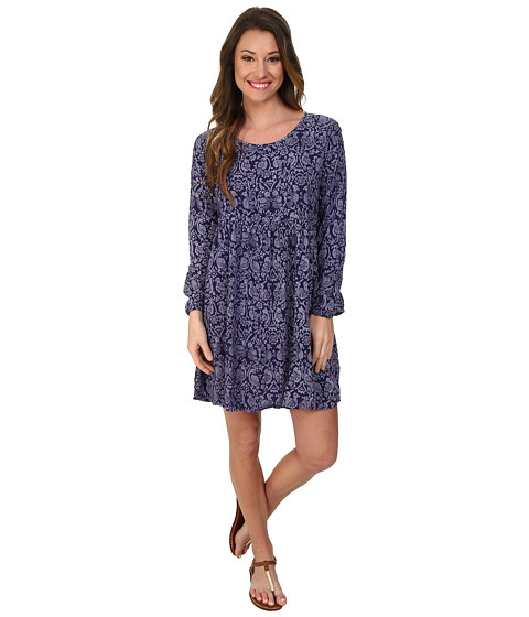 Roxy - Traveler L/S Dress (Astral Aura Print) Women's Dress