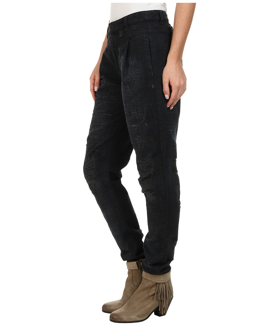 Free People - Destroyed Denim (Black) Women