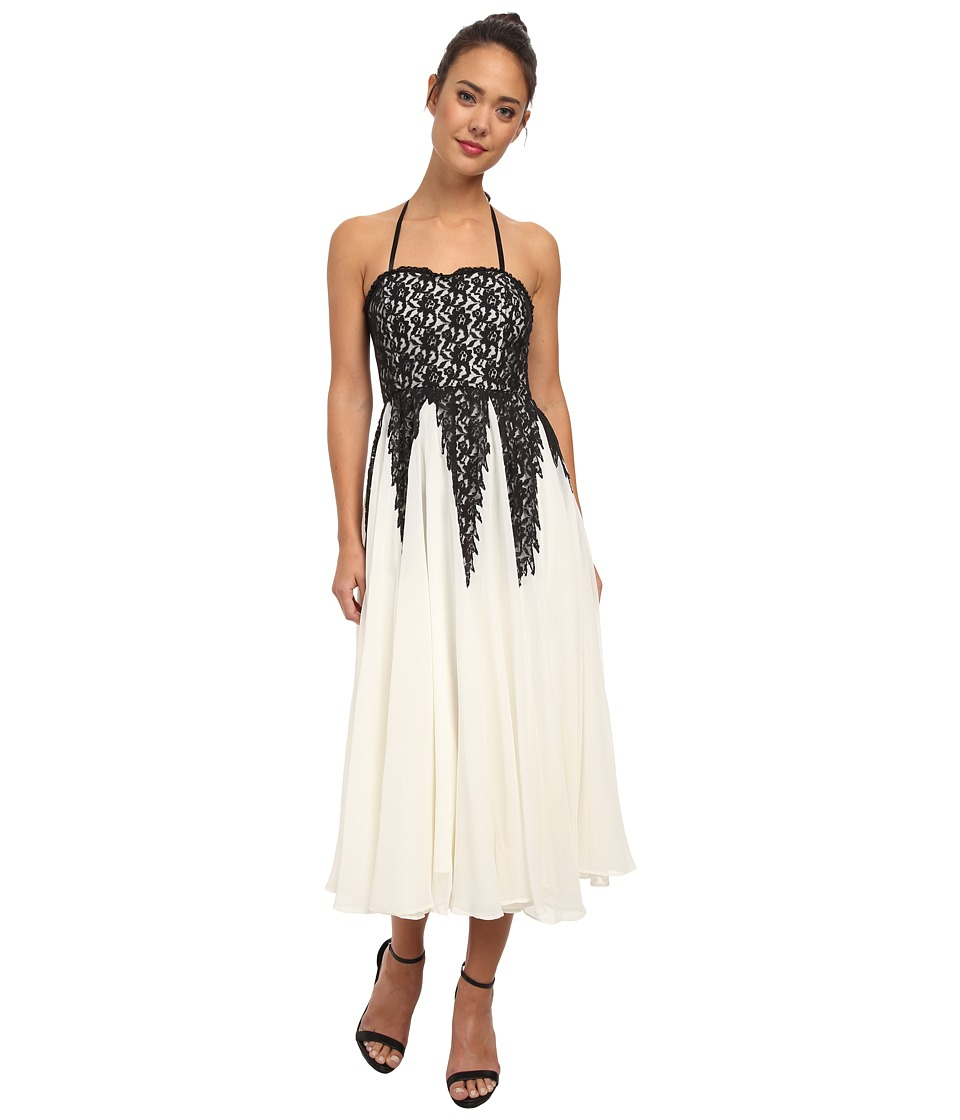 Free People Freda Ballgown (Ivory Combo) Women