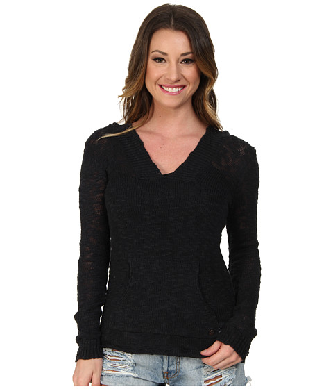 Roxy - Warm Heart Sweater (True Black) Women's Sweater
