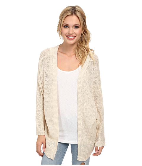 Roxy - Sunset Jersey Cardi (Lark Heather) Women's Sweater