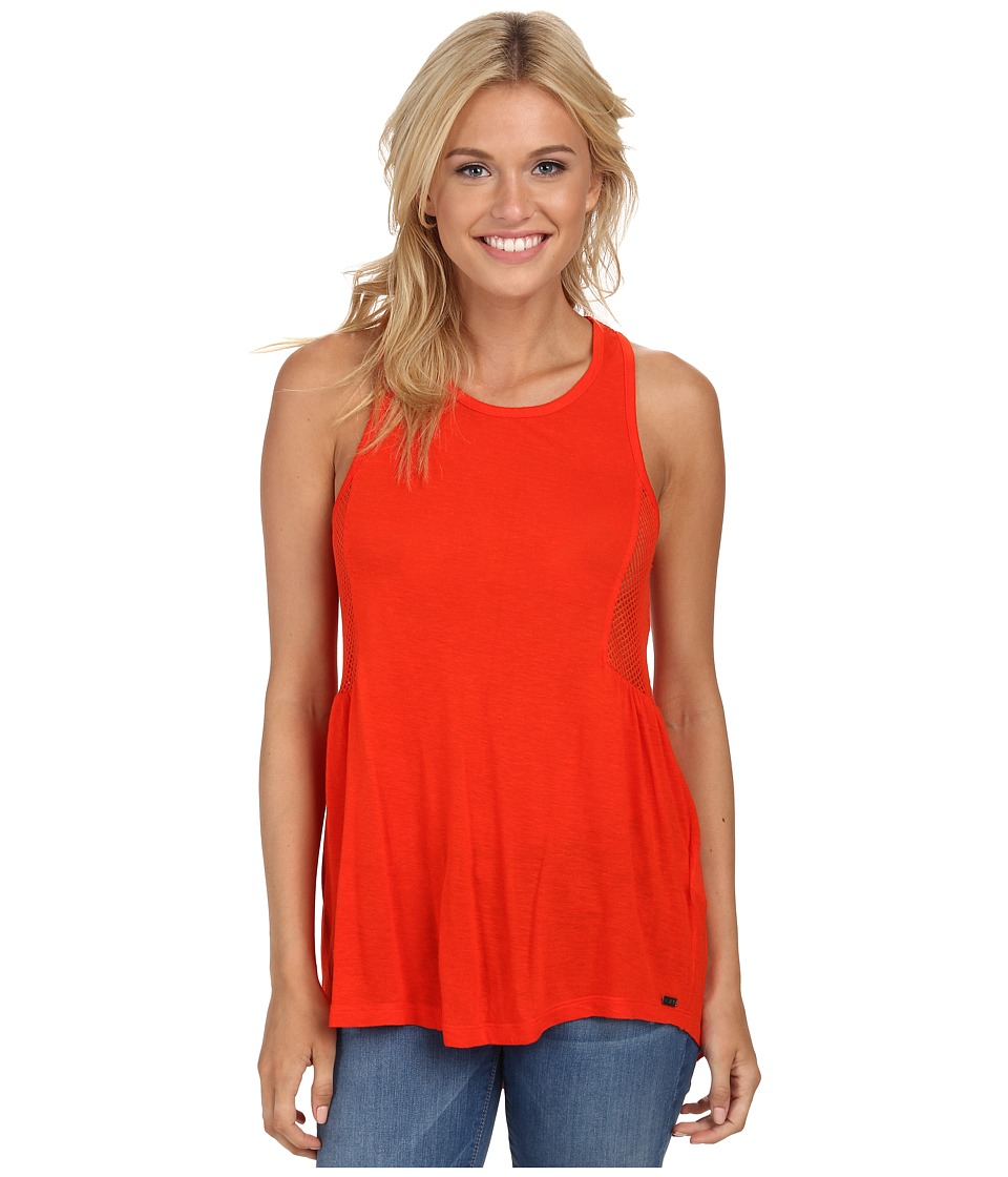 Roxy - Capitola Tank Top (Fiery Orange) Women's Sleeveless