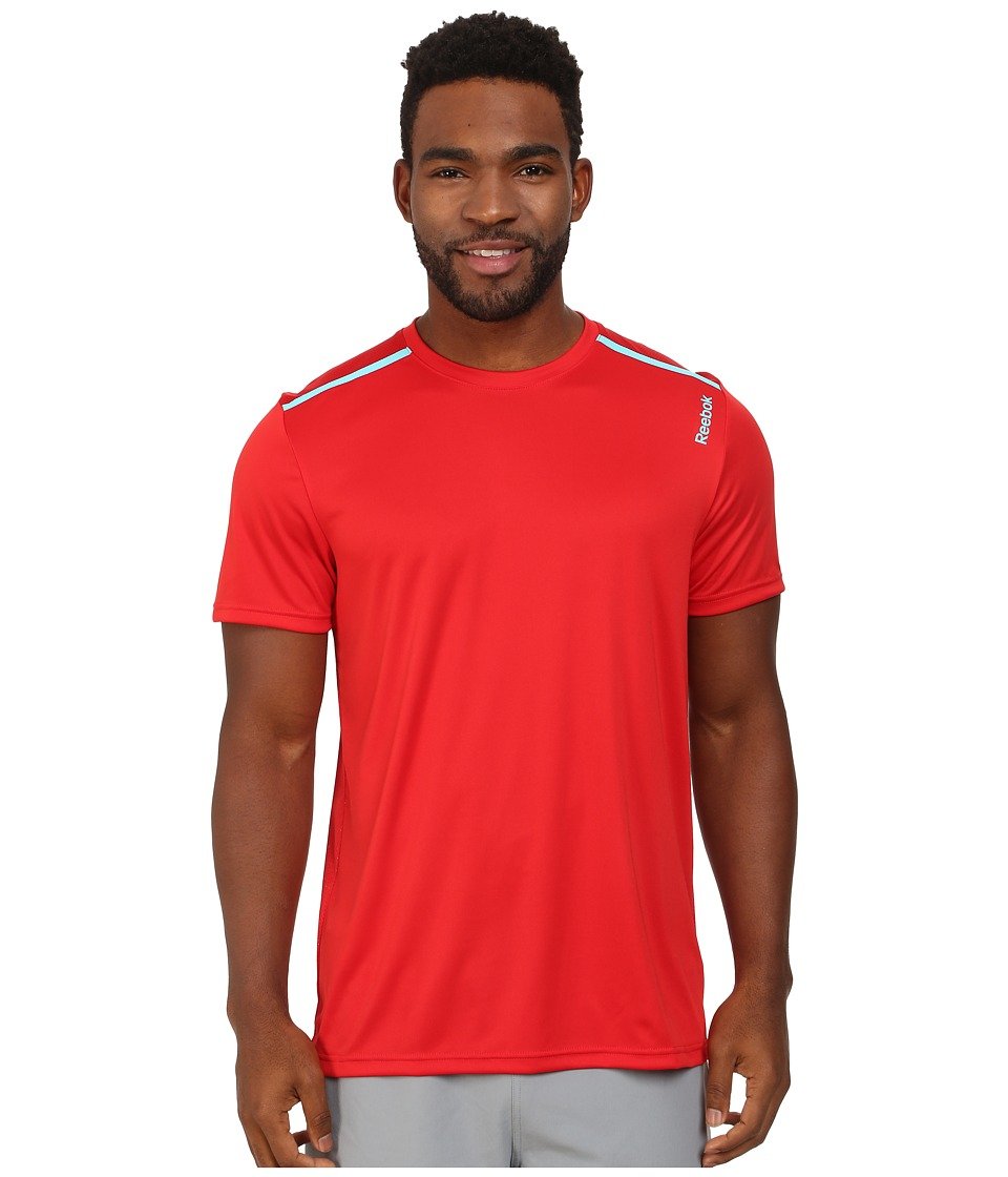 Reebok - Workout Ready Tech Top (Red Rush) Men's Workout
