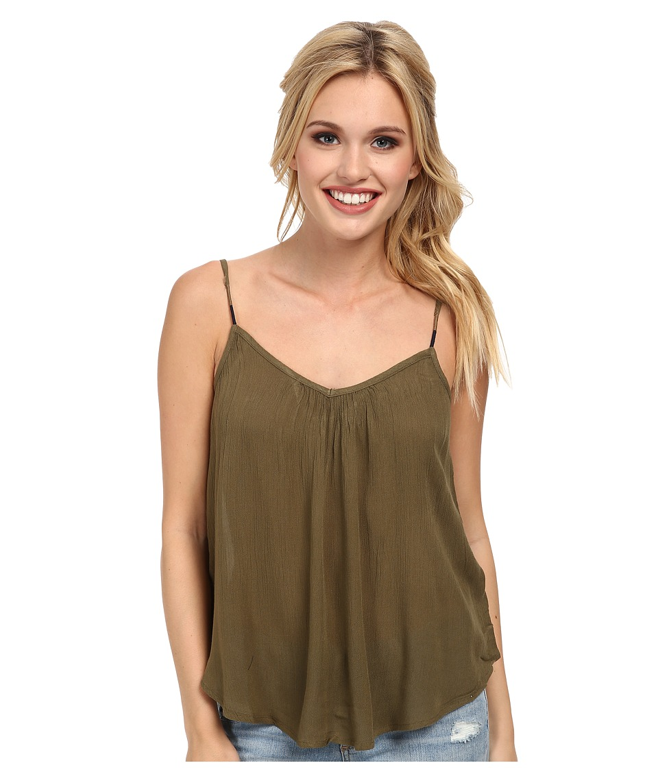 Roxy - Sand Dune Tank Top (Military Olive) Women