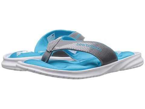 New Balance - Cruz II Thong (White/Blue) Women