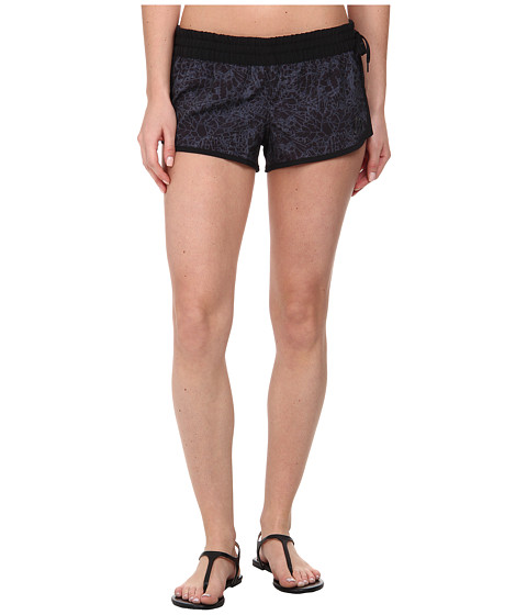 Hurley - Phantom Block Party Beachrider (Black Shatter) Women's Swimwear